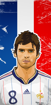 Gourcuff - World Cup 2010 by LyriquidPerfection