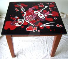 Death Coffee Table by Grrena