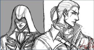 140928 Arno and Shay by myleel