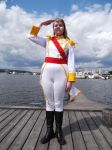 Oscar cosplay - Attention! by Liebe-Siegt-Alles