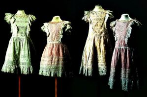 From Childhood--OTMA Dresses by soleit