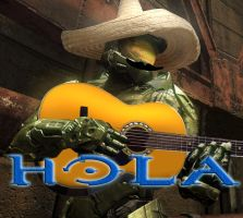 Halo Says Hola by StarFoxDude11