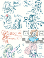 Muro Redraw Doodles Together by Sakurarmarie