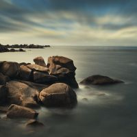 The country of the round rocks by ChristineAmat
