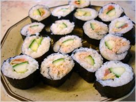more sushi by sushi-counter