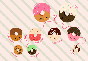 Donuts Family II by pedronekoi