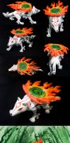 Amaterasu sculpture by SomaKun