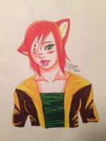 Humanoid Squirrelflight by Snowstorm102