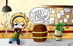 BARRELS!!! by purple-panda64