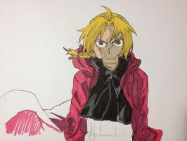 Full Metal Alchemist Brotherhood- Edward Elric by Onigiripencil