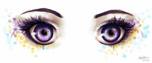 Electric eyes by Ninna968