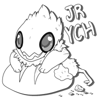 Jolleraptor YCH - Auction by Mega-Arts