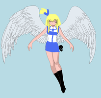 lucy is natsu's angel by sistersgrimmfan