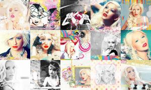 Christina Aguilera icons 4 by Missesglass