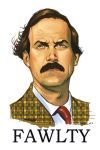 Fawlty Towers: Basil Fawlty by stokesbook