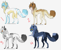 Adoptables by Raytard95