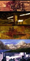 Speed paintings Set by GlaucoNobre