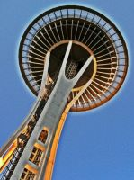 Space Needle HDR by Bspacewiz2