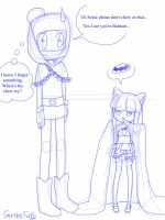 Remember what I said about height? by LiveWireGoth