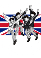 The Beatles by YoGurei