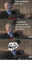 Dawkins does hate mail by AnointedPhilosopher