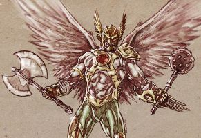 Hawkman - DC new 52 by dichiara