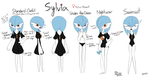Sylvia Reference Page by BlueMan282