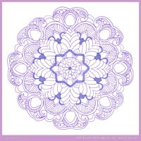 Starred Mandala OPEN COLLAB by Quaddles-Roost
