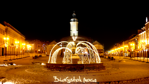 Bialystok at night 1 by LongmanPL