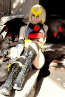 Giratina Gijinka by kennyfrikkindied