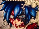 Gray Fullbuster the Demon Slayer.  by charswarrenxo
