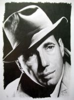 Humphrey Bogart by CubistPanther