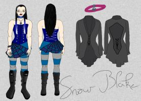 Snow Blake reference by xMissLovelessx