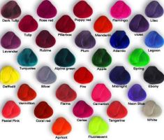 different types of hair color by iloveemos2