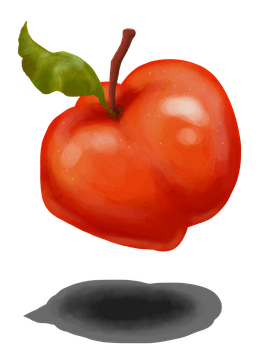 Apple sketch by Svennah
