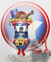 Captain America by Fresh-H