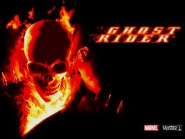 ghost rider wallpaper marvel by ts76uk