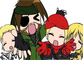 MGS Lucky Star Style? by MoonlightHs