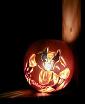 Wolverine Jack O'Lantern by comicalclare