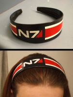 Mass Effect: N7 Headband by Red-Flare