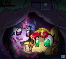 Slumber Party by Neko-Snicker