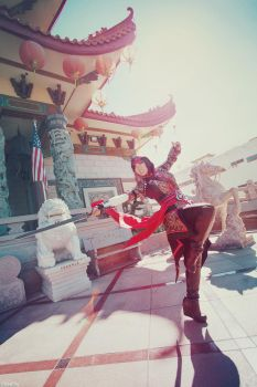Assassin's Creed: China Chronicles - Shao Jun -01- by beethy