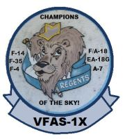 VFAS-1X Fighting Regents Patch by BlueWolfRanger95