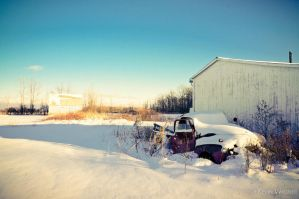 Abandoned Treasure - Winter Edition by KevinWegner