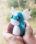 Dratini inspired Plush by mmmgaleryjka