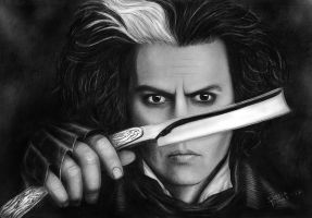 Sweeney Todd by ecilARose
