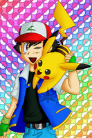 Ash Ketchum by JuriyaShoh
