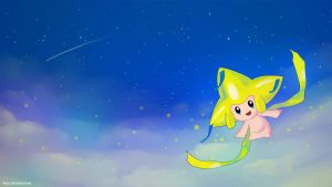Jirachi Wallpaper by hexsy