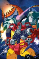TF Hotrod VS Cyclonus Battle04 by TheBoo