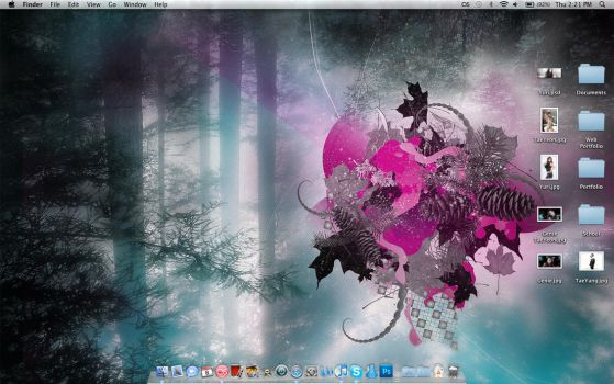 Macbook Pro Desktop by xyunaxfantasiesx